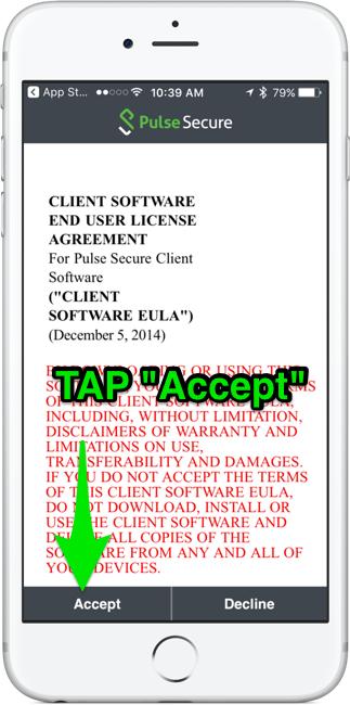 Accept EULA