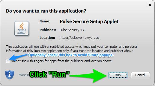 Run Java
